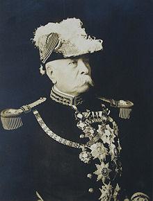 Díaz con uniforme de soldado