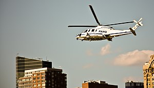Port Authority of New York and New Jersey Police Department - A PAPD S-76 in March 2010