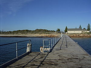 Port Rickaby, South Australia - Port Rickaby jetty