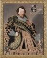 Porträtt, Herman Wrangel. Togs till utställningen Skokloster gods - 400 år - Skoklosters slott - 87822.tif