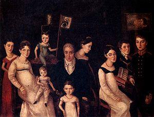 Benois family - Portrait of the Benois family