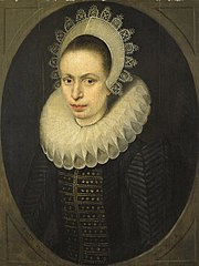 Portrait of Antoinette Walleran (1598-?)