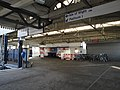 Portsmouth Harbour railway station Isle of Wight ferry signs 2.JPG