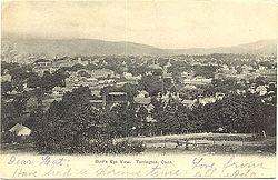 PostcardBirdsEyeViewTorringtonCTca1906