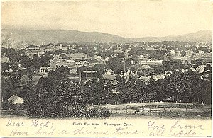 Torrington, Connecticut - From a postcard sent in 1906