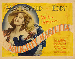 Description de l'image Poster - Naughty Marietta 02.jpg.