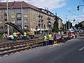 Průběžná, rekonstrukce TT, k ulici Ke Strašnické (01).jpg
