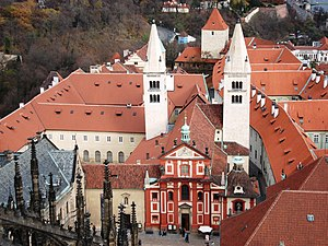 St. George's Convent, Prague - Overview of St. George's monastery