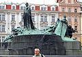 Praha, Staré Město, pomník Mistra Jana Husa.JPG