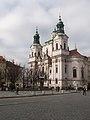 Praha, kostel sv. Mikuláše na Starém Městě - panoramio.jpg