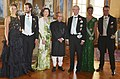 Pranab Mukherjee at a banquet hosted by their Majesties King Carl XVI Gustf, Queen Princess Victoria, His Royal Highness Prince Carl Philip and Ms. Sofia Hellqvist, at Stockholm, in Sweden on June 01, 2015.jpg