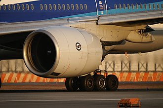 Pratt & Whitney PW4000 - A PW4074 powering a Boeing 777 of All Nippon Airways