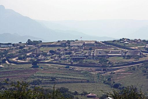 President Jacob Zuma's Nkandla homestead
