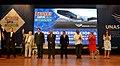 Presidenta participa en homenaje en honor del Presidente de la República Oriental del Uruguay, José Mujica (15922941636).jpg