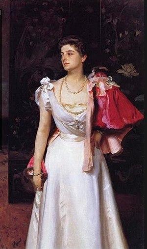 Pavel Pavlovich Demidov, 2nd Prince of San Donato - Princess Demidoff (Helene Petrovna Demidova, Princess of San Donato), John Singer Sargent, 1895-1896