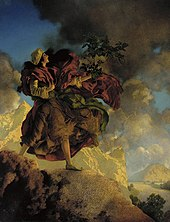 And maxfield parrish swinging girl remarkable topic