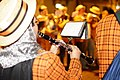 Princeton University Band - New York City Halloween 2011 - Clarinetist.jpg