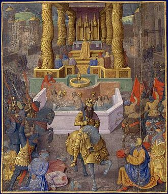 Herodian kingdom - The taking of Jerusalem by Herod the Great, 37 BCE, by Jean Fouquet, late 15th century.