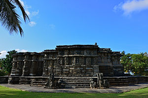 Kedareshwara Temple, Halebidu - Kedareshwara Temple, 1173–1219