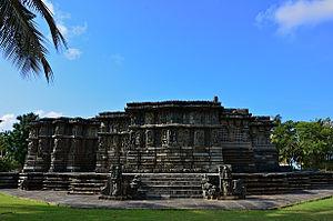 Veera Ballala II - The Kedareshwara temple at Halebidu, c.1200