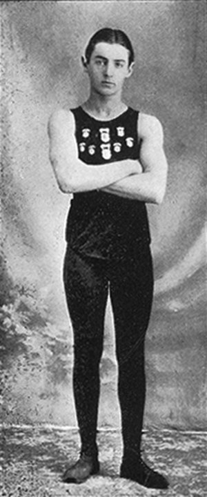 Alfred Carlton Gilbert - AC Gilbert as a young fraternity man at Pacific University in 1902