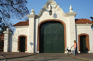 Olivos, Buenos Aires - Main gates of the Official Presidential Residence, Olivos.