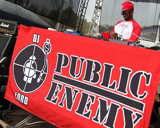 Public Enemy no Parque Tietê em São Paulo