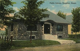 Rangeley, Maine - Image: Public Library, Rangeley, ME