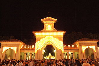 Albacete - Image: Puerta de Hierros Recinto Ferial de Albacete