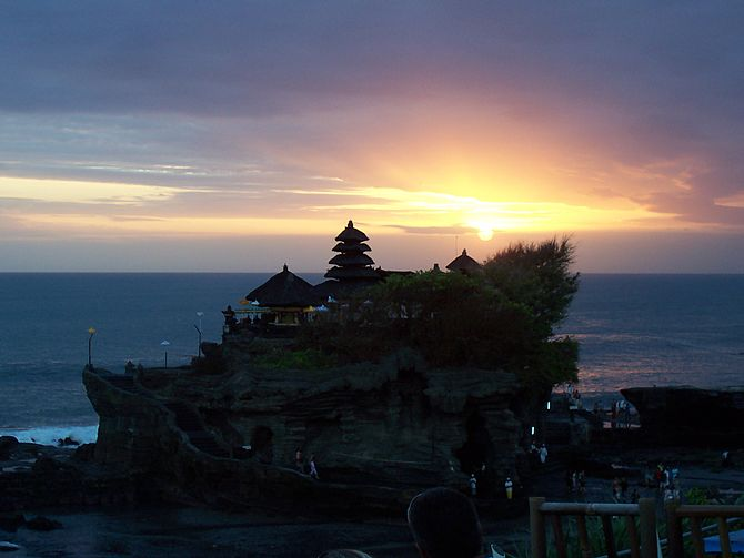 Pura Tanah Lot sunset