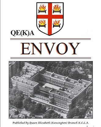 Queen Elizabeth College - QE(K)A's Envoy Newsletter cover