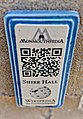 QRpedia plaque for Shire Hall, Monmouth 2.jpg