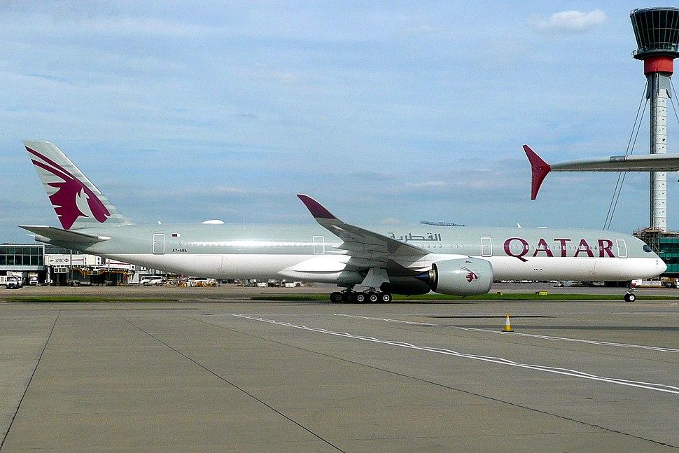 Qatar Airways, A7-ANA, Airbus A350-1041