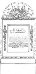 Quaglia - Le père Lachaise ou Recueil de dessins des principaux monuments de ce cimetière - Planche 6b1.jpg