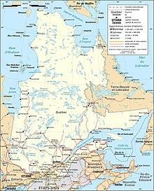 Condition Routiere Quebec >> Reseau Routier Quebecois Wikipedia