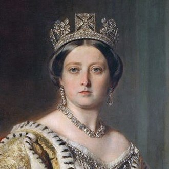 George IV State Diadem - Queen Victoria wearing the diadem