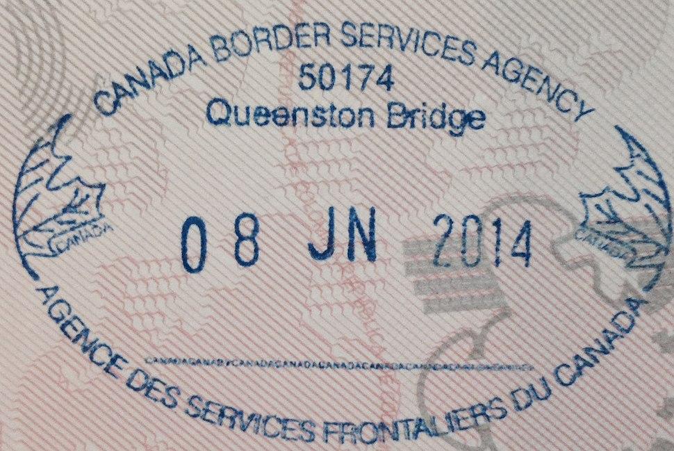 Queenston Bridge Canada Passport Bridge