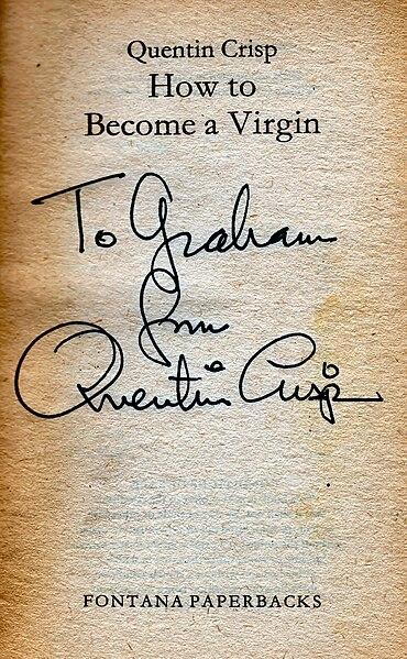 370px Quentin Crisp27s Signature