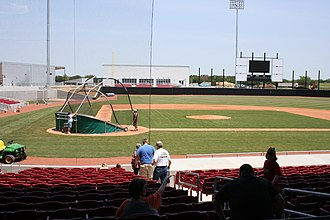 AirHogs Stadium - Image: Quik Trip Parknearcomplete