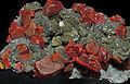 Réalgar, tétrahédrite, orpiment, quartz 3.JPG