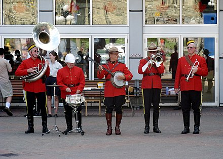 Although the official band of the RCMP has disbanded 0f3e0bfe8fbe