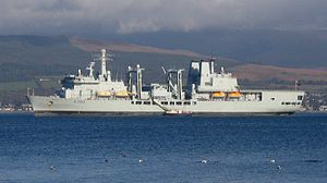 RFA Fort George im Firth of Clyde 2006