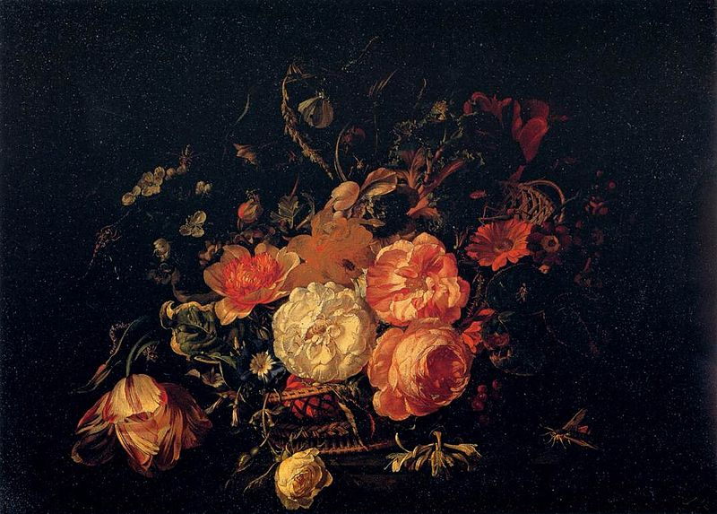 ファイル:Rachel Ruysch - Basket of Flowers - WGA20551.jpg