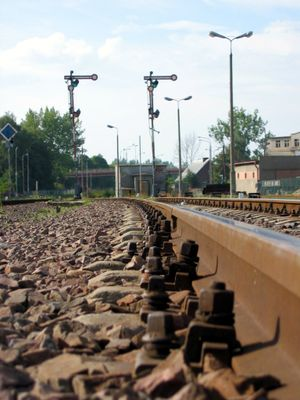 Kościerzyna - Image: Rail semaphore koscierzyna