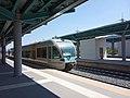Railbus Aigio railway station August 2020.jpg