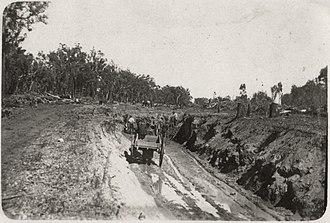 Rail transport in Western Australia - Railway construction circa 1926, Western Australia