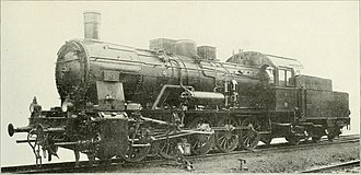 0-10-0 - Builder's photo of a Prussian G 10 in 1916