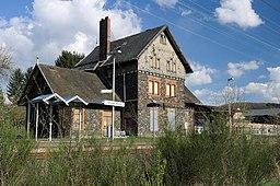 Railway stop Unnau Korb west