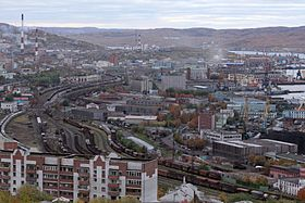 Vista de Múrmansk