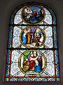 Raimbeaucourt (Nord, Fr) église, vitrail 12.JPG